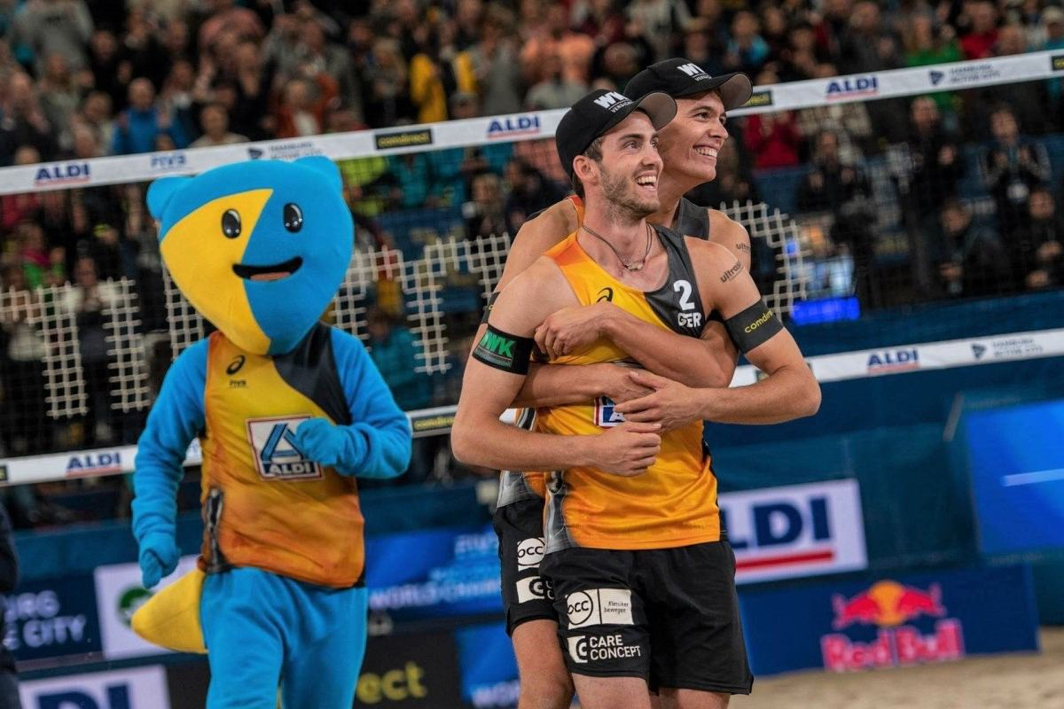 Beachvolleyball WM: Thole/Wickler gewinnen Silbermedaille