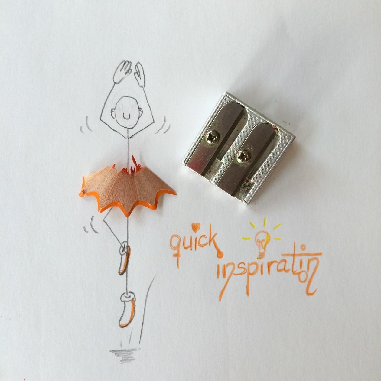 Doodle (Papier + Bleistift)