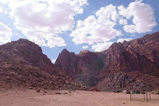 Jordanische Wüste1