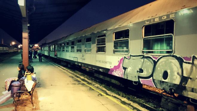 Nachtzug nach Sofia