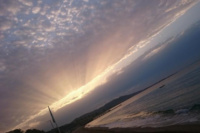 Sonnenaufgang Cannes