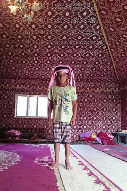 Wadi Rum Kinder1
