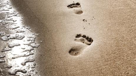 Spuren im Sand  Lesung zur Hochzeit