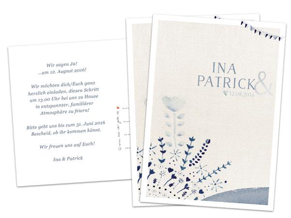 Einladungskarten Hochzeit Text Vintage  Hipopco