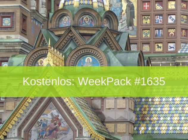 WeekPack-1635 – Kostenlose Bilder Russland – Sankt Petersburg