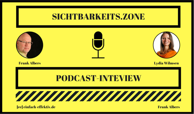 Interview mit Lydia Wilmsen – Sichtbarkeits.Zone Podcast