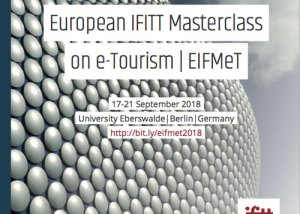 European IFITT Masterclass on e-Tourism | EIFMeT