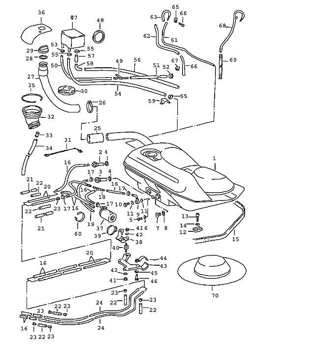 Porsche 911 1965-1969 Rebuilt fuel pump, mfi 69-73…