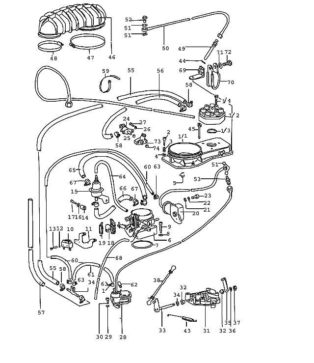 Porsche 911 1974-1977 Warm Up regulator 0438140009…