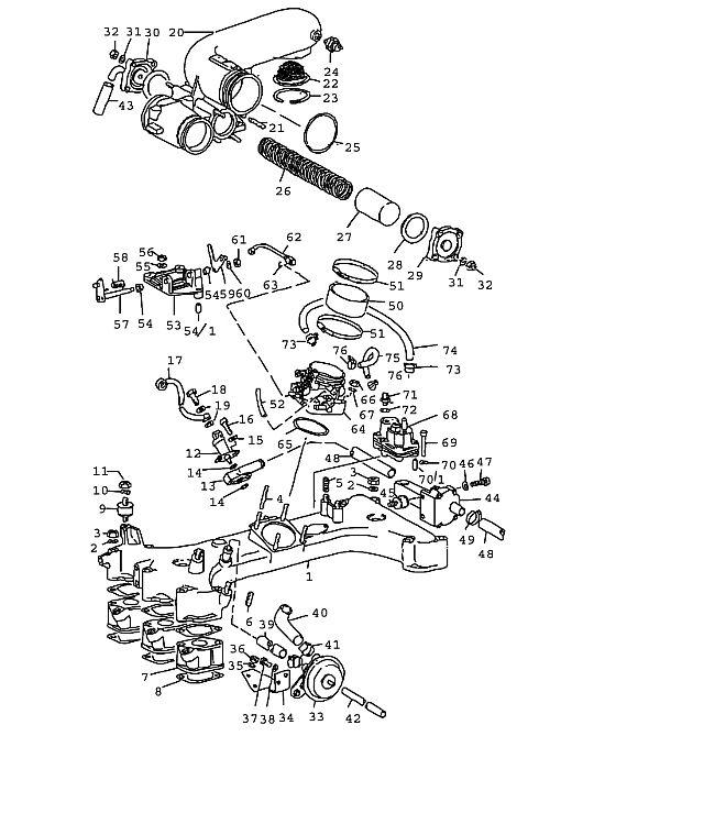 Porsche 911T 1976-1977 Warm-up valve, 30/53)…