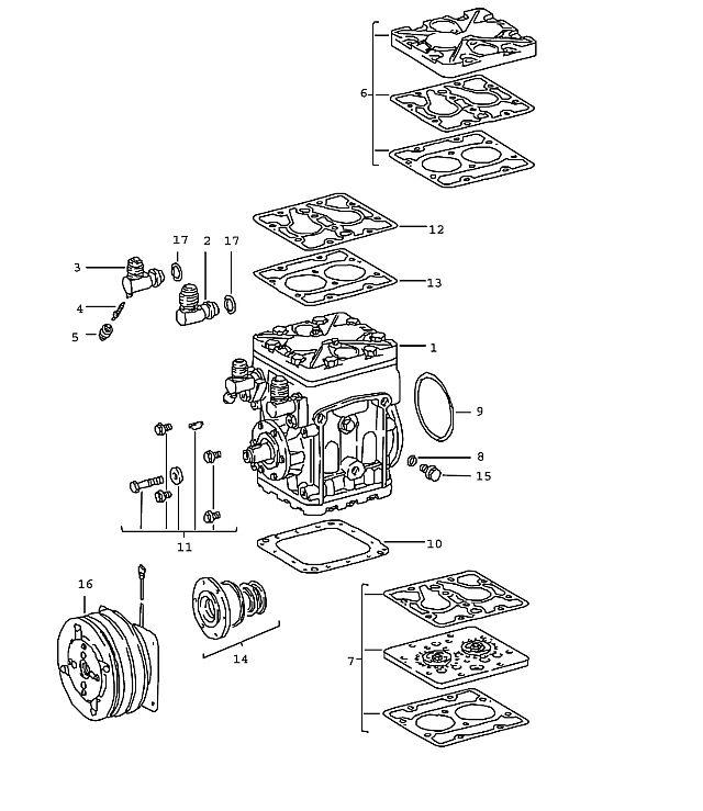 Porsche 911 1978-1983 Compressor…