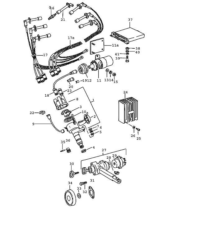 Porsche 911 1978-1983 Vacuum unit 930.07/08/16 /17…