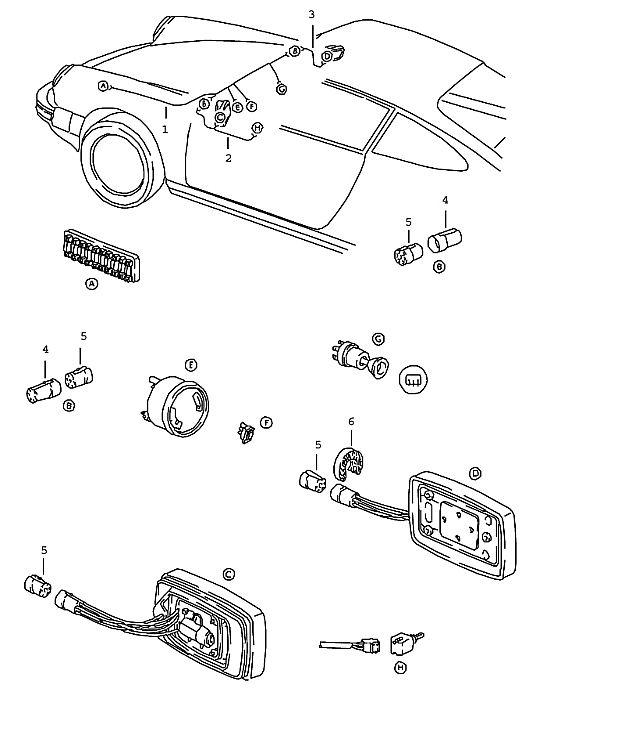 Porsche 911 1978-1983 Wiring harness…
