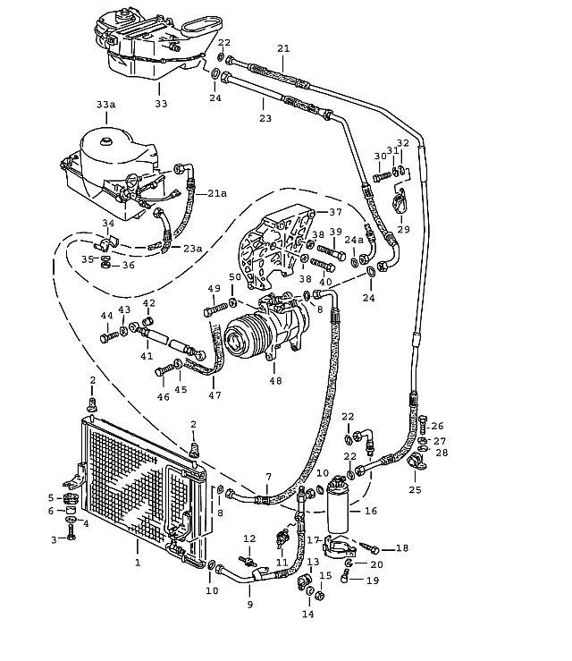 Porsche 944 1982-1985 Compressor