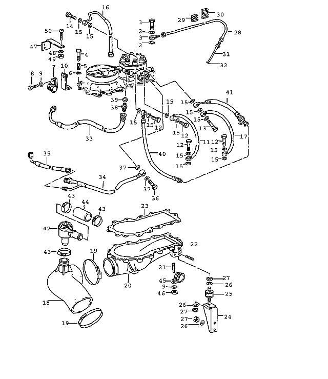 Porsche 964 1989-1994 Shut-off valve…
