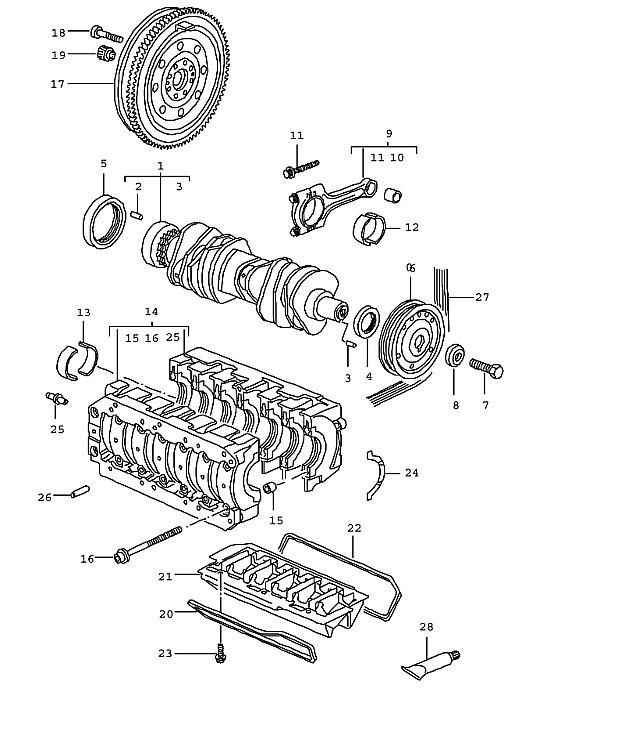Porsche Boxster/986 1997-2004 Connecting rod bolt