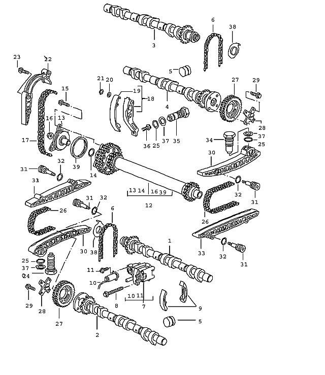 Porsche Boxster/986 1997-2004 Repair kit guide piece