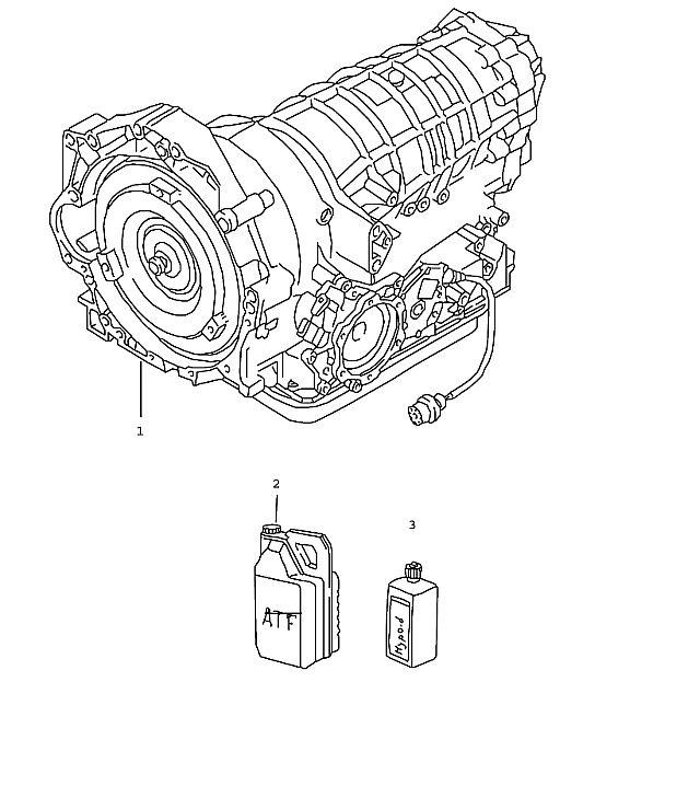 Porsche Boxster/986 1997-2004 Tiptronic transmission 98 A86.00