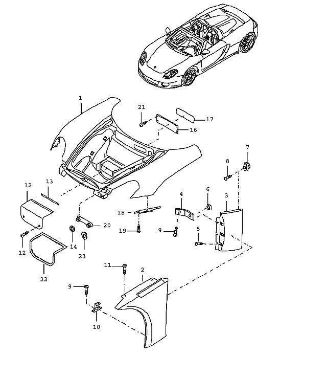 Porsche Carrera GT Support