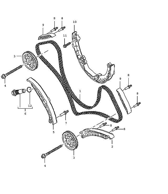 Porsche Cayenne Timing chain