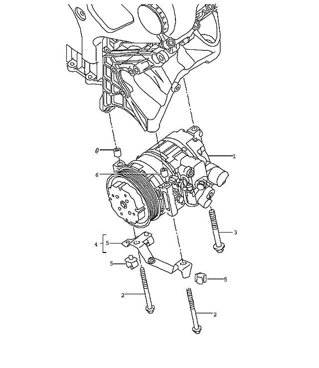 Porsche Cayenne Compressor 05- ID9J