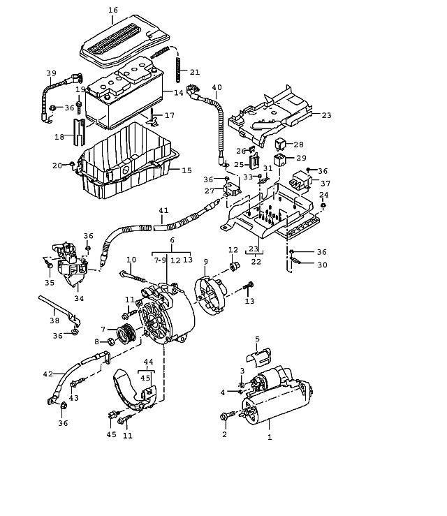 Porsche Cayenne Battery box