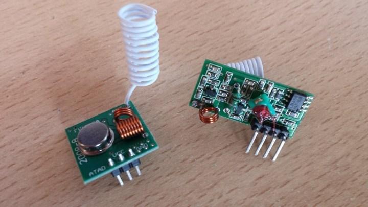 433 MHz Funk- Sende und Empfänger Modul