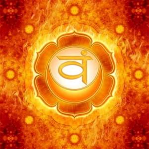 Chakra 2, das Sakralchakra oder Sexchakra, für sexuelle und emotionale Gesundheit
