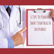 how to find short term health insurance