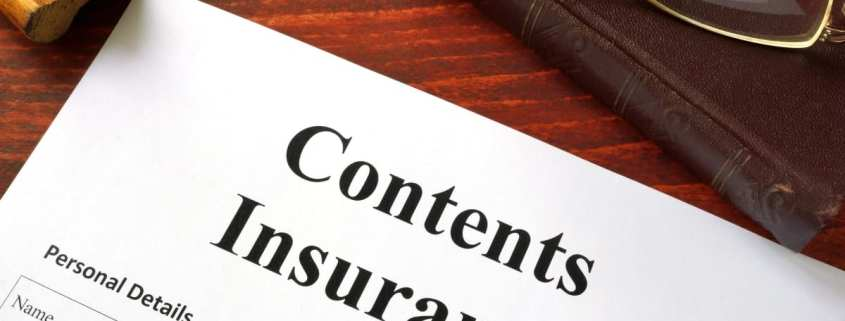 contents insurance coverage