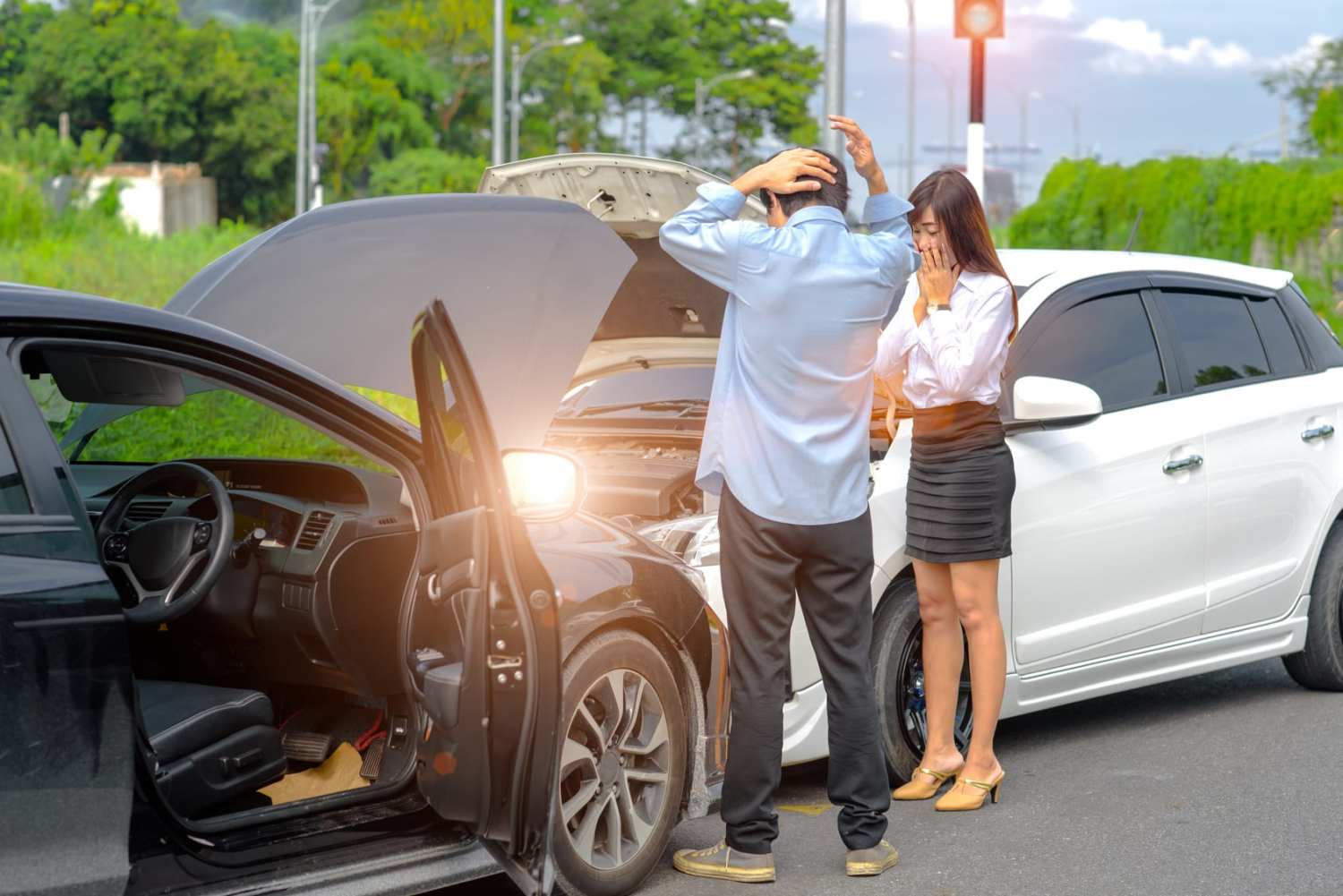 how to avoid common car accidents