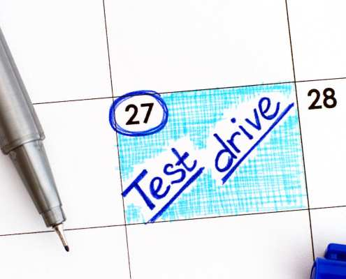 how to make the most of the test drive