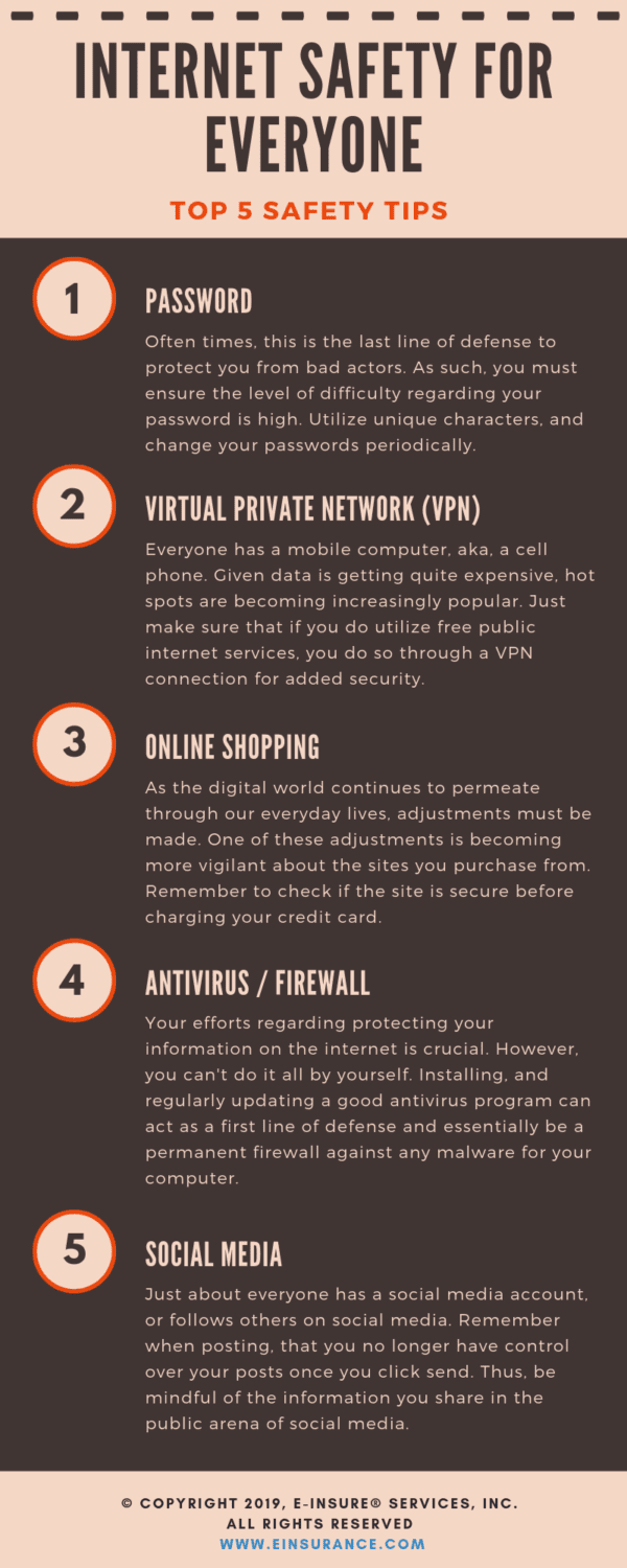 internet safety tips for everyone