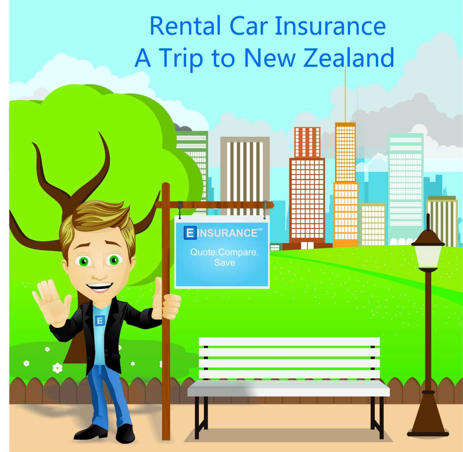 rental car insurance a trip to New Zealand