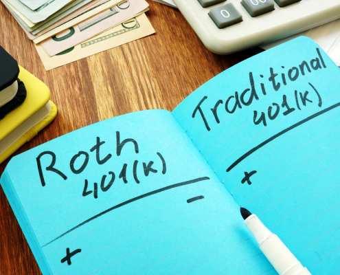 roth 401k vs 401k