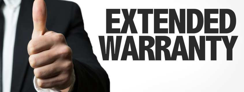 extended warranty on used car
