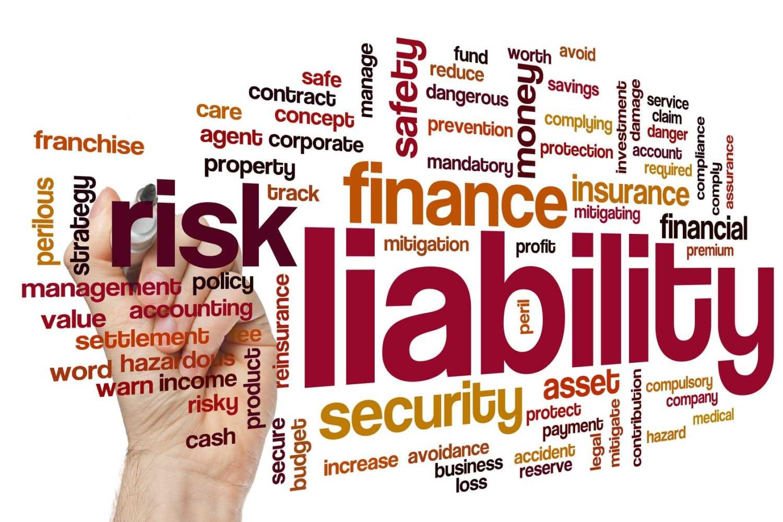 business liability insurance word cloud