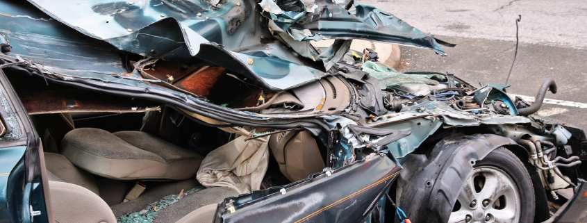 when is a vehicle considered totaled