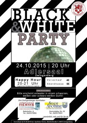 Black & White 2015 Plakat