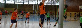 Volleyball: 1. Turniertag Spielbetrieb: Platz 4