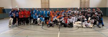 Unsere Inlineskater-Hockey Mannschaft beim 3. Spiel der H-Liga 2019