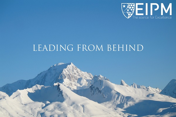 SlideShare cover: Leading from Behind