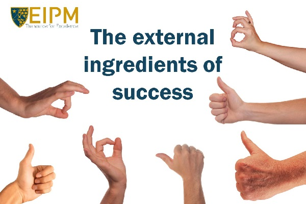 SlideShare cover: The External Ingredients of Success