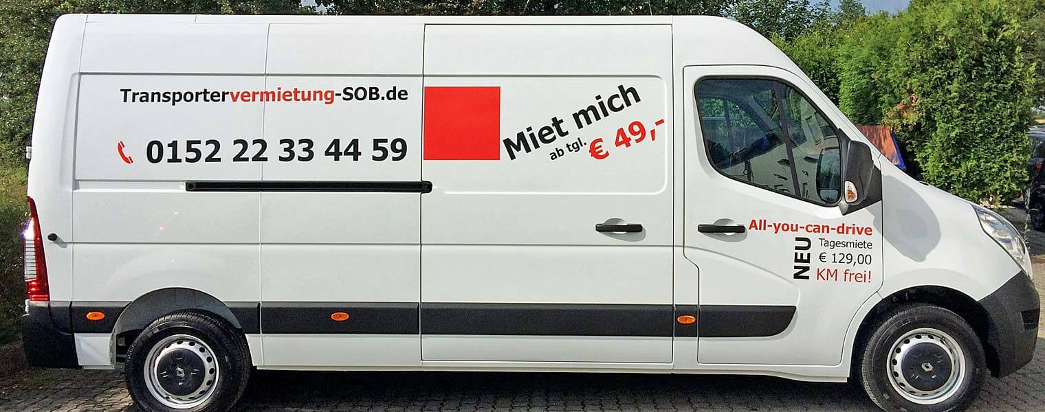 Transporter Mieten Erlangen transporter mieten in n