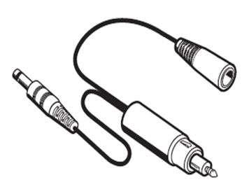 Adapterkabel für Sennheiser S1 Digital Zigarettenanzünder