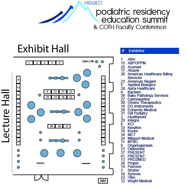 PRESENT Podiatric Residency Education Summit Exhib