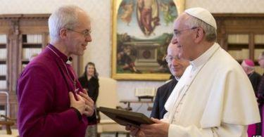Igreja Anglicana pede perdão a católicos e apela por unidade