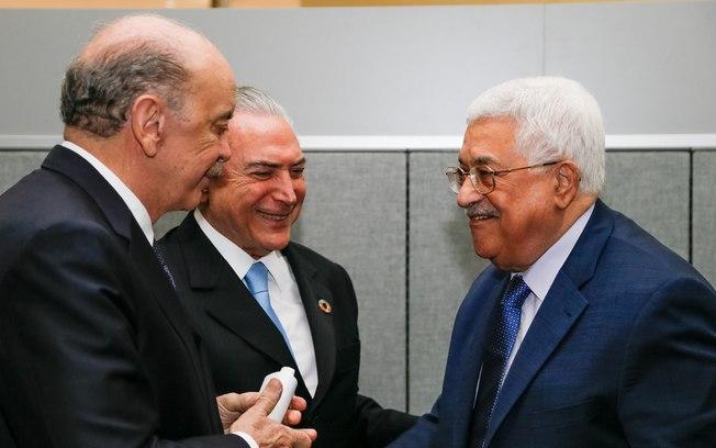 Governo Temer se posiciona contra Israel e defende divisão do território