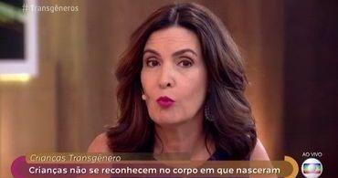 Fátima Bernardes defende ideologia de gênero para crianças na TV