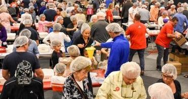 Igreja distribui 300 mil refeições para refugiados no Oriente Médio